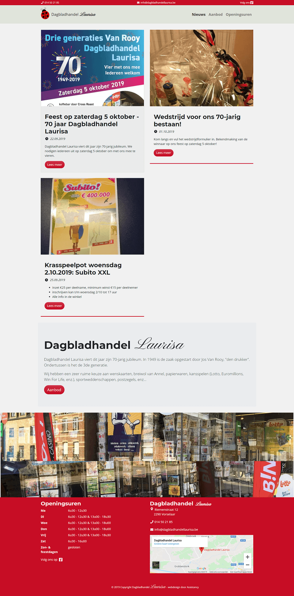 Laurisa dagbladhandel vorselaar 0 1