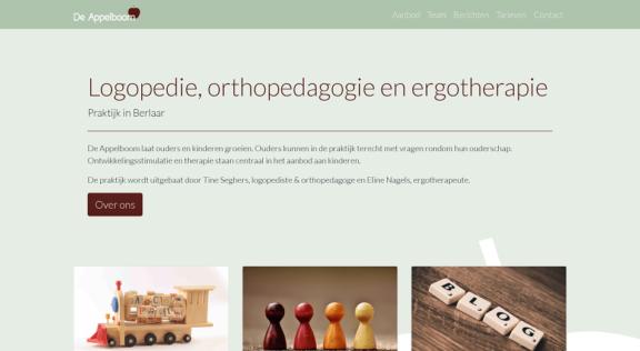 De Appelboom - logopedie, orthopedagogie en ergotherapie in Berlaar